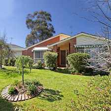 Rental info for Private, Peaceful & Perfect in the Geelong area