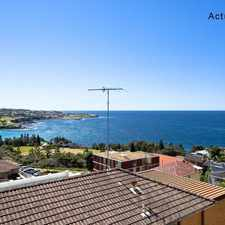 Rental info for DEPOSIT TAKEN - SENSATIONAL BEACH & OCEAN VIEWS! in the South Coogee area