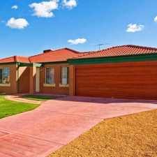 Rental info for Quality 4 Bedroom Home in the Maddington area