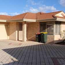 Rental info for DONT MISS OUT ON THIS HIDDEN GEM in the Perth area