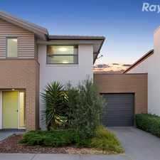 Rental info for A 3 bedroom 2 bathroom town home in Waverley Park