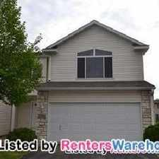 Rental info for Stunning Townhome In Farmington Must See.