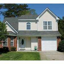 Rental info for 32 Creekside Drive in the Chesapeake area