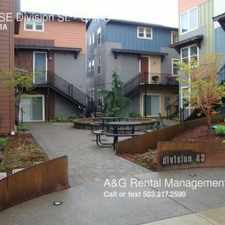 Rental info for 4315 SE Division St. in the Richmond area