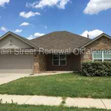 Rental info for Newer Model 4 Bedroom House! in the 73179 area