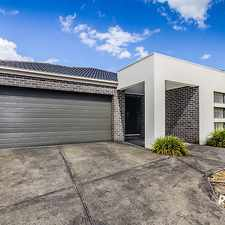 Rental info for UNDER APPLICATION WITH CASEY'S NUMBER 1 AGENT in the Cranbourne North area