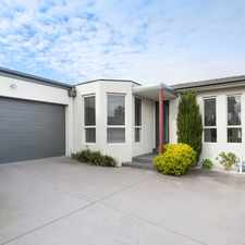 Rental info for A Family Size Contemporary Living in the Melbourne area