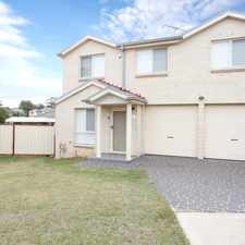 "Rental info for ""Great family home in the Rooty Hill area"
