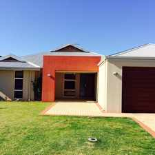Rental info for MODERN 4 X 2 FAMILY HOME IN BULLSBROOK in the Perth area