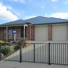 Rental info for Beautiful Home in The Summit Estate in the Mount Barker area