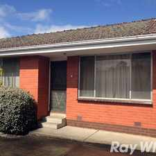 Rental info for SUPER CLOSE TO BAYSWATER STATION in the Melbourne area
