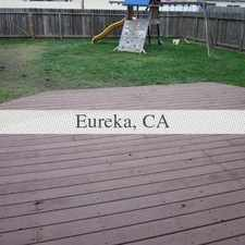 Rental info for Located in the Henderson center area, this one story Eureka home features a large deck and fenced ya