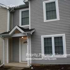 Rental info for 3145 Bethany Court
