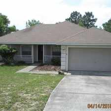 Rental info for House - in a great area. in the 34608 area