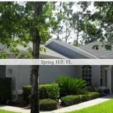 Rental info for Spring Hill - superb Apartment nearby fine dining. 2 Car Garage!