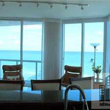 Rental info for 6515 Collins Avenue #9030