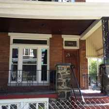 Rental info for Spacious Four Bedroom Available in Baltimore in the Rosemont area