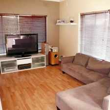 Rental info for GROUND FLOOR TWO BEDROOMED UNIT LARGE GARDEN AREA in the Adelaide area