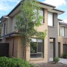 Rental info for *** UNDER APPLICATION*** STYLISH TOWNHOUSE! in the Langwarrin area