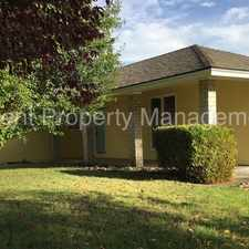 Rental info for Updated 3 bed, 2 bath home on quiet street
