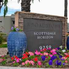 Rental info for Scottsdale Horizon Apartment Homes in the Scottsdale area