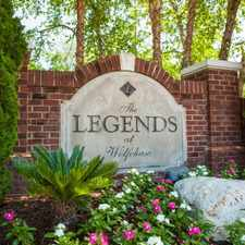 Rental info for The Legends at Wolfchase