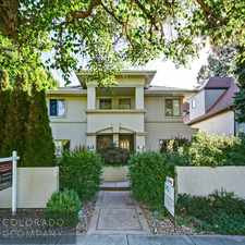 Rental info for 454 Cook Street in the Cherry Creek area