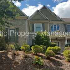 Rental info for Amazing Townhome in Hoschton