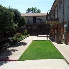 Rental info for Nice townhome near NW 10th and Rockwell. Nice courtyard with a picnic area