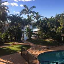 Rental info for Fantastic Waterfront Home, 100m to Broadwater, Bridge free for your Boat!
