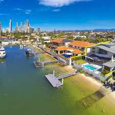 Rental info for Exclusive North-East Facing Elegant Waterfront Home in the Surfers Paradise area