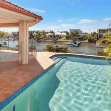 Rental info for SHORT TERM LEASE - IMMACULATE WATERFRONT HOME WITH POOL AND PONTOON in the Gold Coast area
