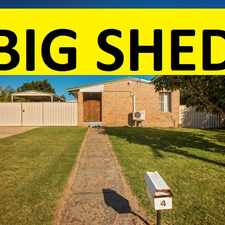 Rental info for GREAT HOME, LARGE SHED