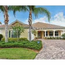 Rental info for Executive 4 Bedroom 4 Bathroom Home in The Isles of Palmer Ranch