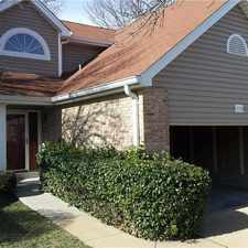 Rental info for Beautiful west county townhouse in the Rockwood school district.