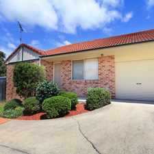 Rental info for Lovely Villa Home in the Wollongong area