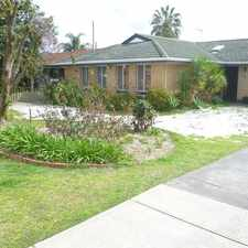 Rental info for FANTASTIC FAMILY HOME in the Perth area
