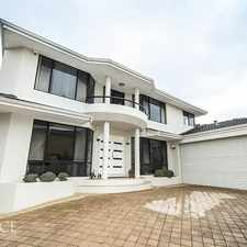 Rental info for LEASED in the Wembley Downs area