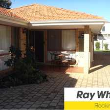 Rental info for Fabulous location, steps from Pristine Palm Beach And Stunning Parks. in the Perth area