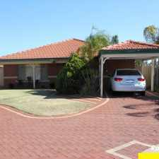 Rental info for LOVELY FAMILY HOME.......DUCTED EVAPORATIVE AIRCONDITIONING....READY FOR SUMMER