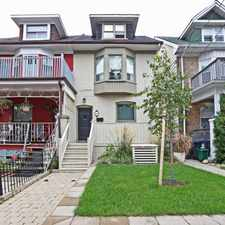 Rental info for 10 Muriel Avenue in the Playter Estates-Danforth area