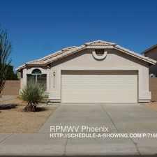 Rental info for 13170 W. Saguaro Lane
