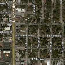 Rental info for Duplex very big 2 bedrooms, 2 full bathrooms plus beautifull kitchen. $800/mo in the North Tampa area