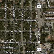 Rental info for Gorgeous Tampa, 3 bedroom, 2 bath in the Tampa Heights area