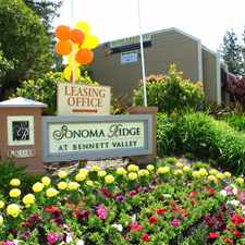 Rental info for Sonoma Ridge at Bennett Valley