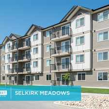 Rental info for 1027-B Manitoba Avenue in the Selkirk area