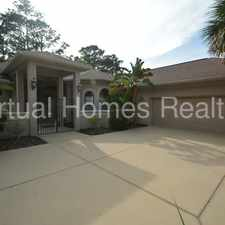 Rental info for Pool Home !Includes a Screened in Patio!