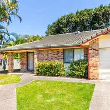 Rental info for 3 BEDROOM IN SECURE COMPLEX WITH POOL in the Gold Coast area