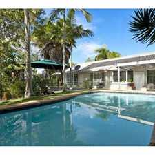 Rental info for LEASED - Great Family Home with In-ground Pool - Noosa Heads
