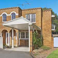 Rental info for 3 Bedroom Townhouse In Leafy Street in the Balgowlah area